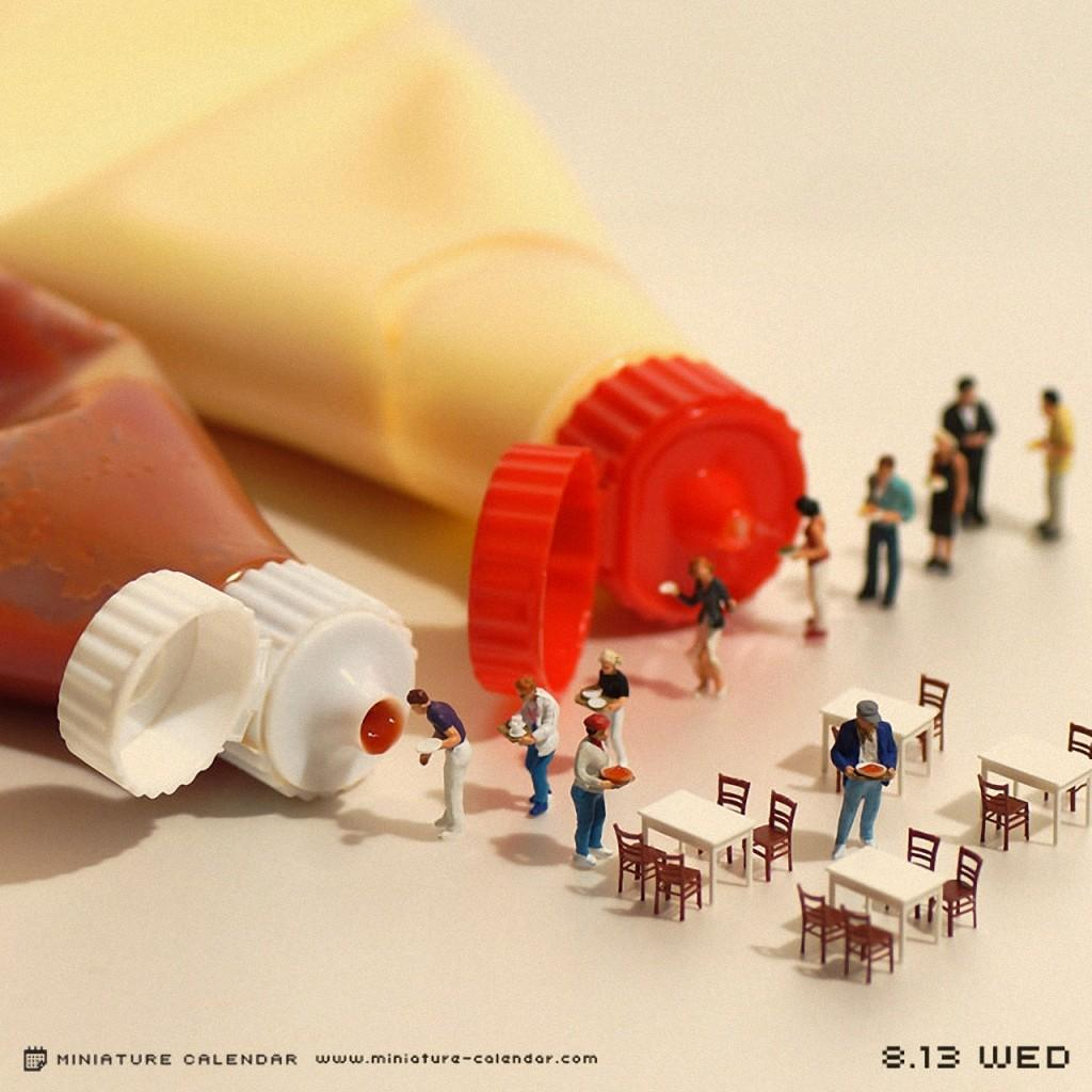 TanakiTatsui05 Неиссякаемая фантазия мастера миниатюр Танаки Тацуи