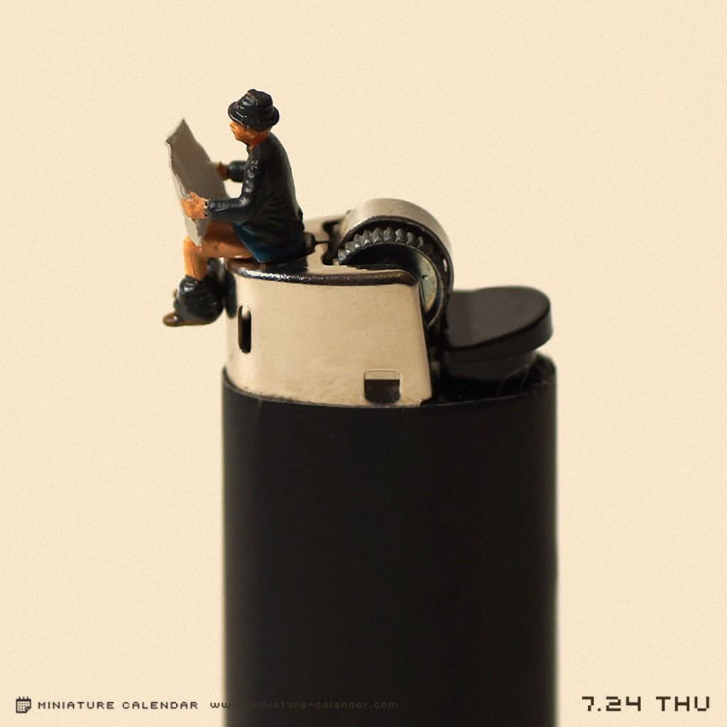 TanakiTatsui11 Неиссякаемая фантазия мастера миниатюр Танаки Тацуи