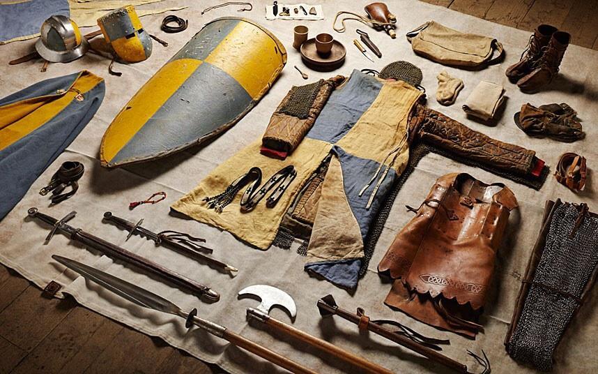 battlegear02 Полное боевое снаряжение британских солдат от 1066 до 2014 года