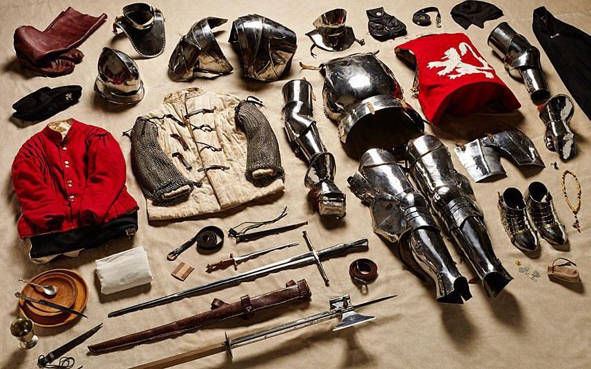 battlegear03 Полное боевое снаряжение британских солдат от 1066 до 2014 года