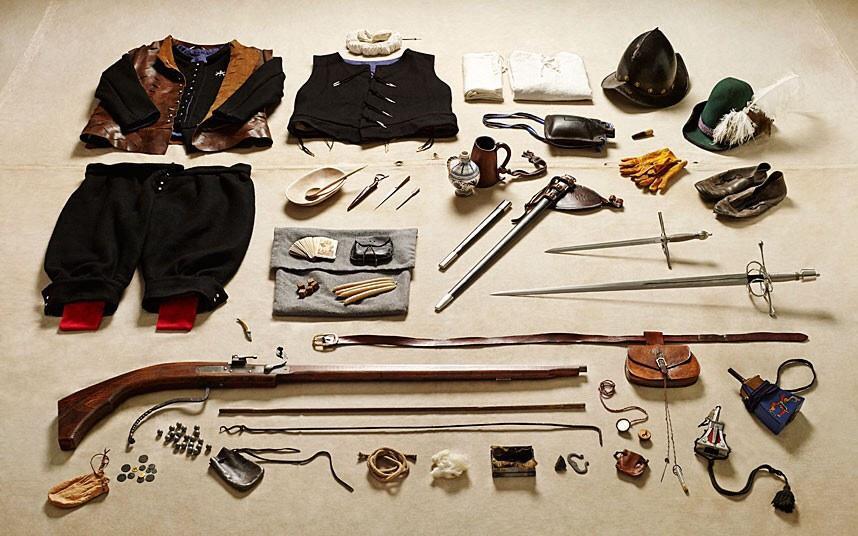battlegear04 Полное боевое снаряжение британских солдат от 1066 до 2014 года