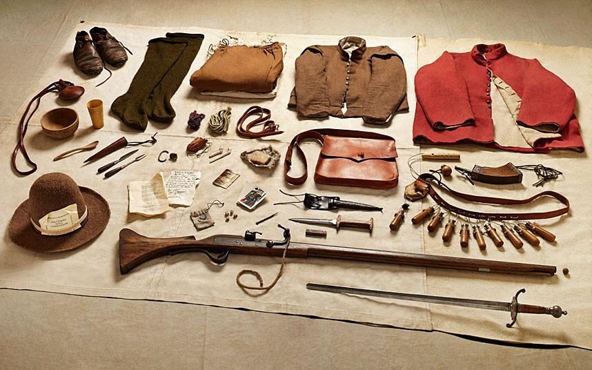 battlegear05 Полное боевое снаряжение британских солдат от 1066 до 2014 года