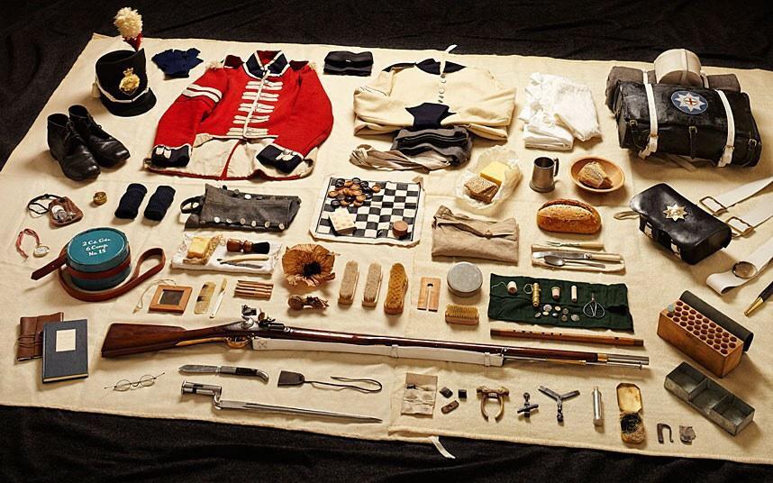battlegear07 Полное боевое снаряжение британских солдат от 1066 до 2014 года
