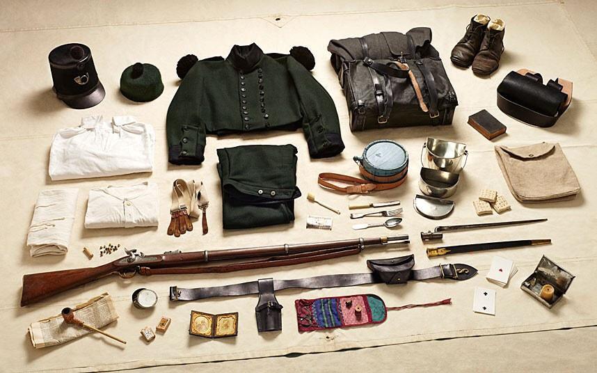 battlegear08 Полное боевое снаряжение британских солдат от 1066 до 2014 года