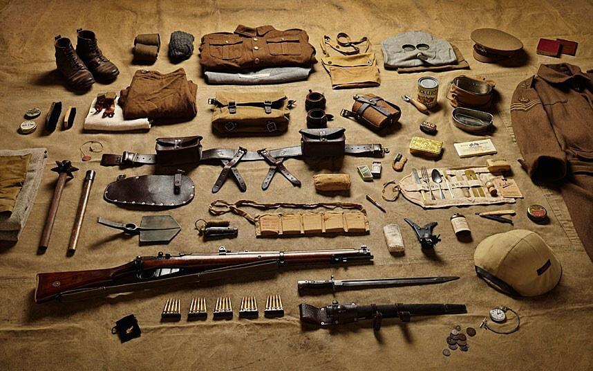 battlegear09 Полное боевое снаряжение британских солдат от 1066 до 2014 года