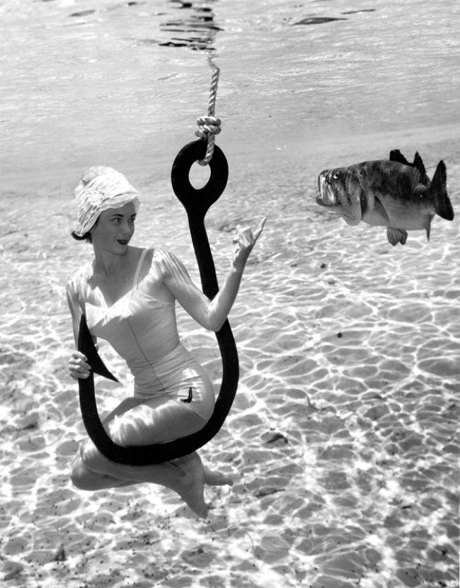 brucemozert02 Фантастические ретрофотографии со дна озера