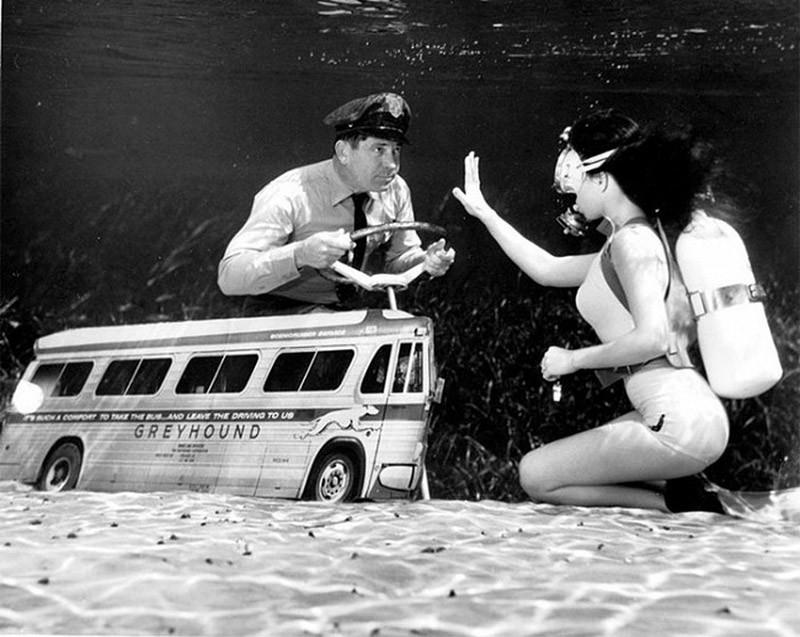 brucemozert12 Фантастические ретрофотографии со дна озера