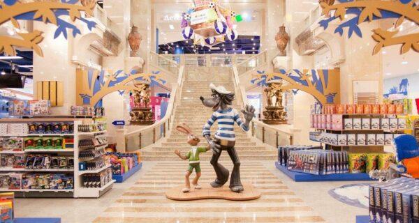 Самый большой магазин игрушек в России