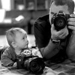 Сыновья на этих фотографиях — вылитые отцы. И наоборот