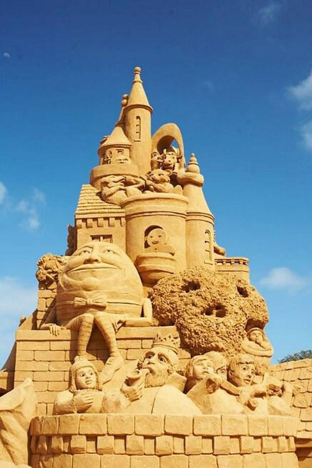 sandcastles02 Замки из песка, которые поразят ваше воображение