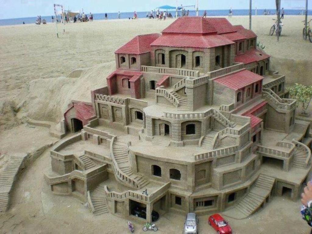 sandcastles04 Замки из песка, которые поразят ваше воображение