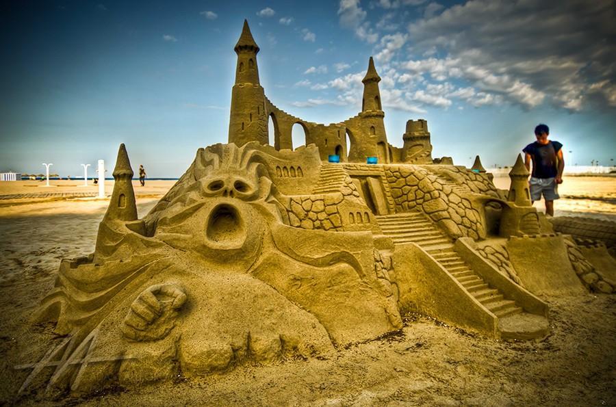 sandcastles08 Замки из песка, которые поразят ваше воображение