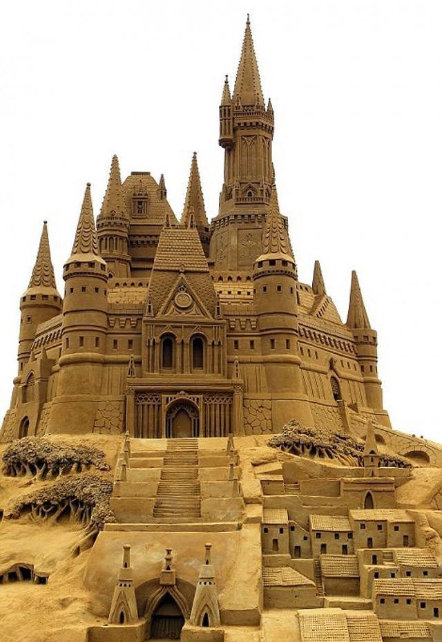 sandcastles09 Замки из песка, которые поразят ваше воображение