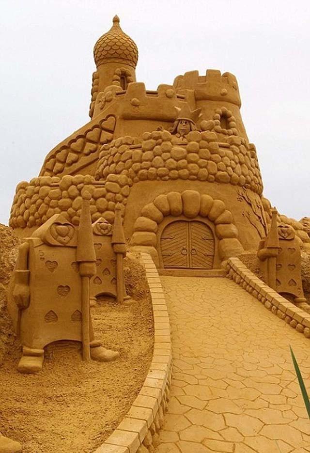 sandcastles10 Замки из песка, которые поразят ваше воображение