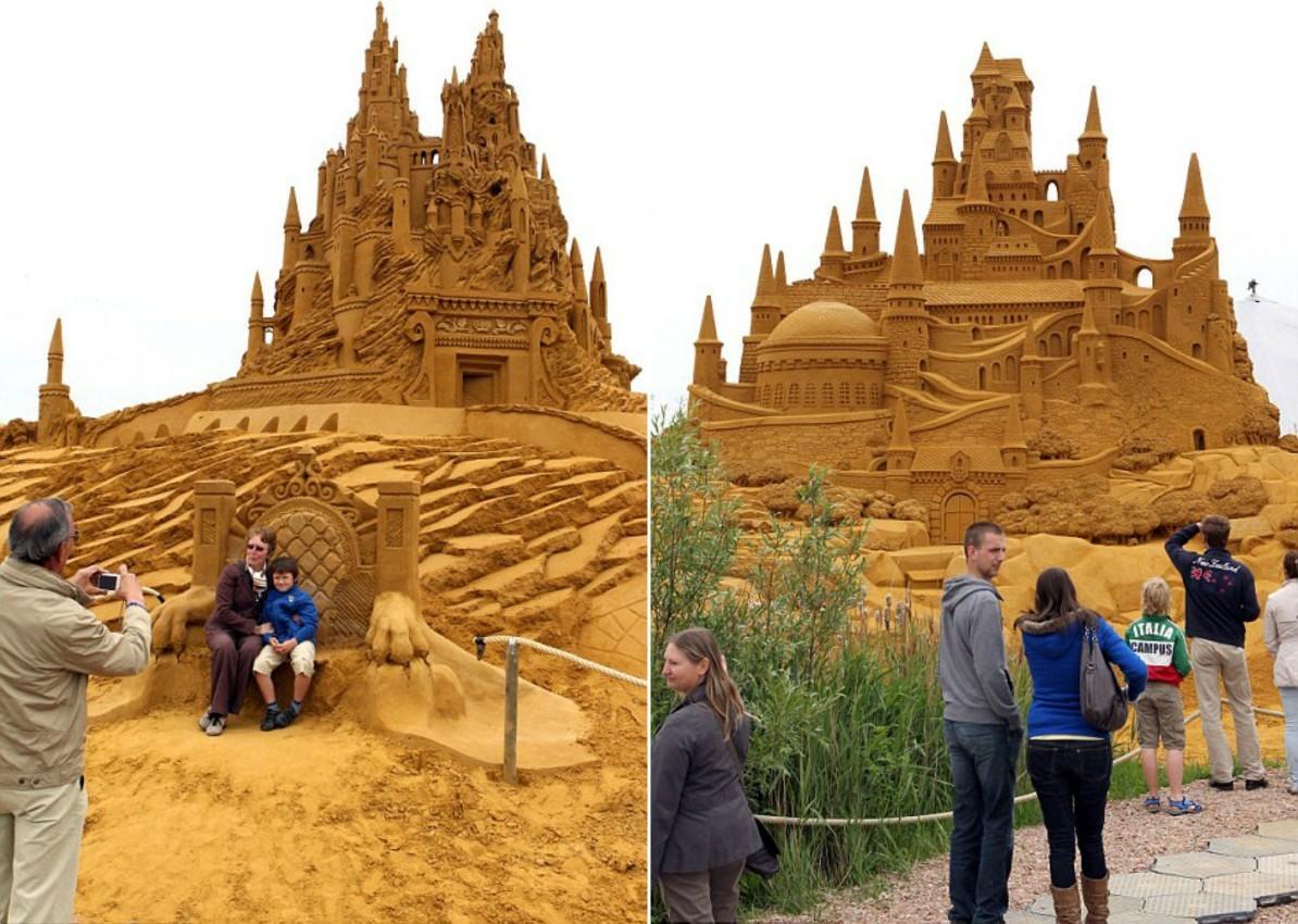 sandcastles11 Замки из песка, которые поразят ваше воображение