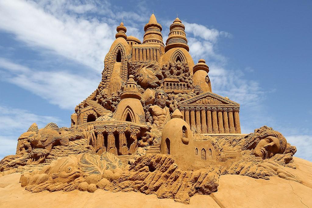 sandcastles13 Замки из песка, которые поразят ваше воображение