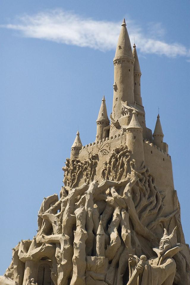 sandcastles15 Замки из песка, которые поразят ваше воображение