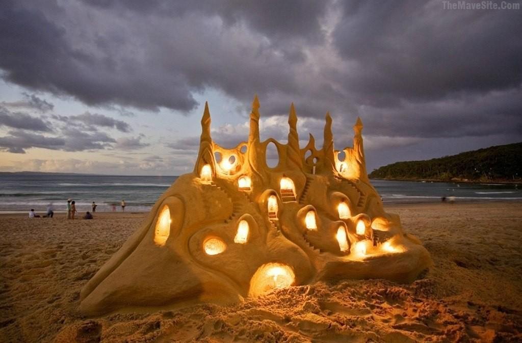 sandcastles16 Замки из песка, которые поразят ваше воображение