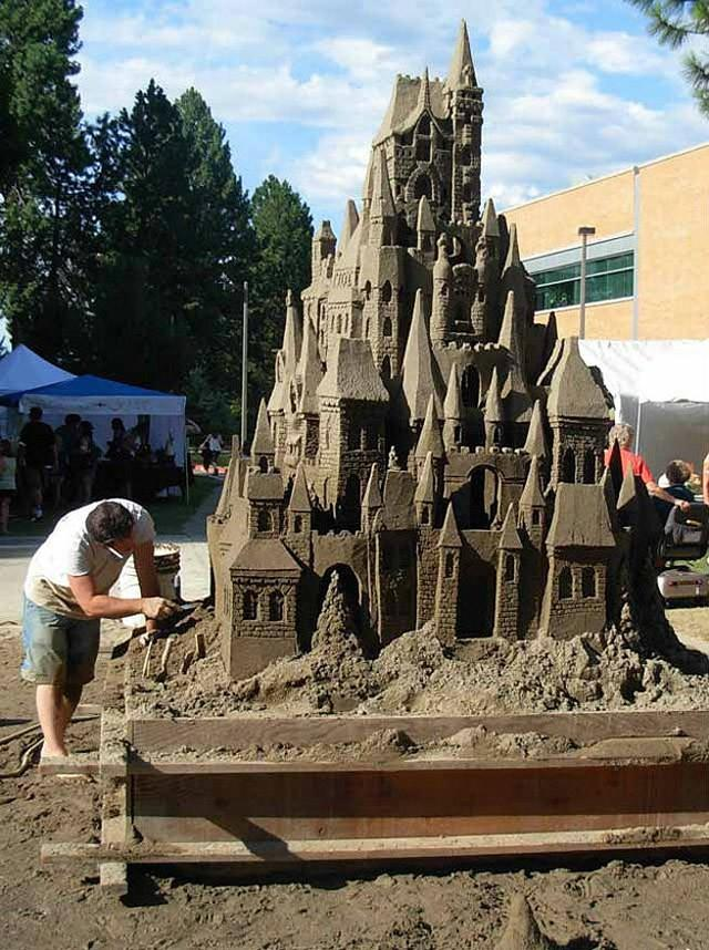 sandcastles18 Замки из песка, которые поразят ваше воображение