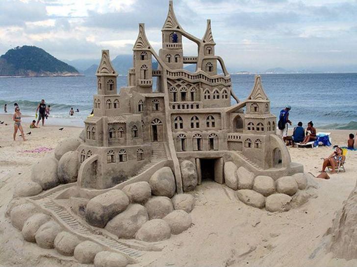 sandcastles20 Замки из песка, которые поразят ваше воображение