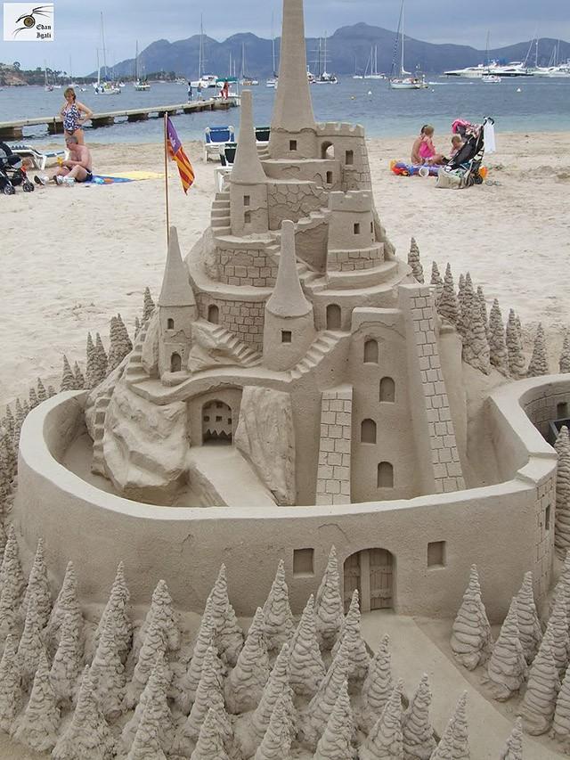 sandcastles21 Замки из песка, которые поразят ваше воображение