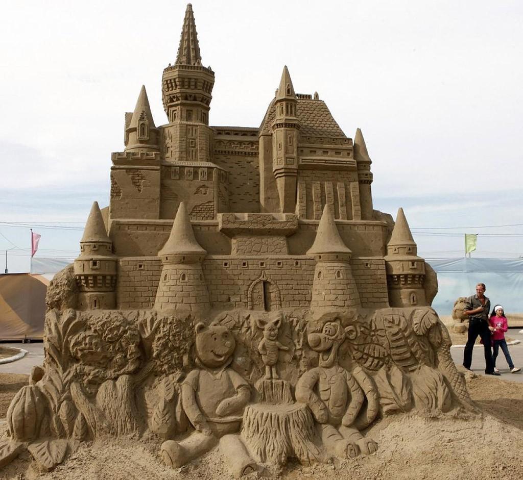 sandcastles25 Замки из песка, которые поразят ваше воображение