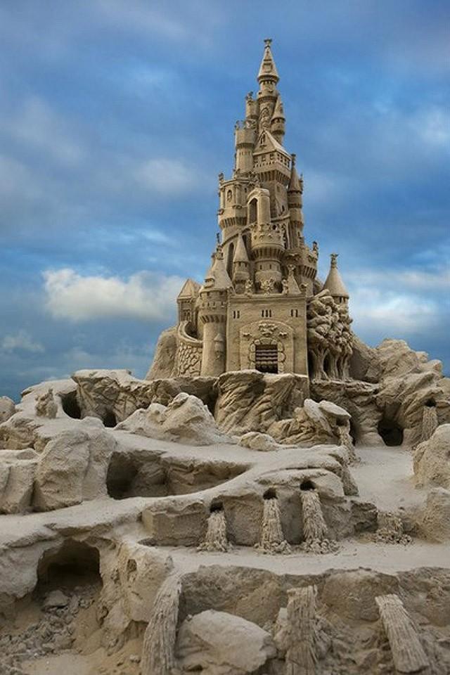 sandcastles26 Замки из песка, которые поразят ваше воображение