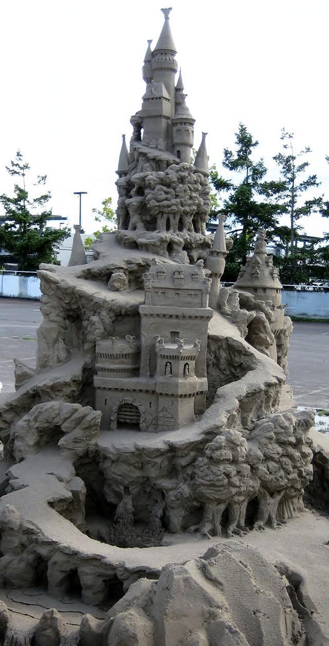 sandcastles27 Замки из песка, которые поразят ваше воображение