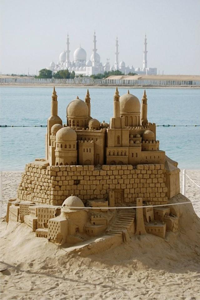 sandcastles28 Замки из песка, которые поразят ваше воображение