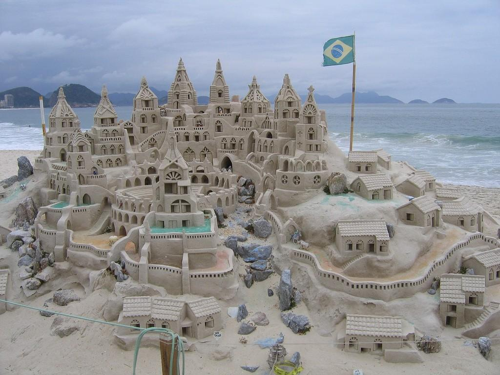 sandcastles30 Замки из песка, которые поразят ваше воображение