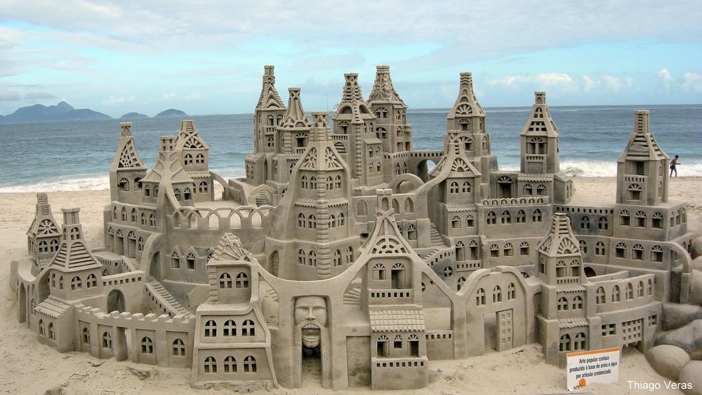 sandcastles31 Замки из песка, которые поразят ваше воображение