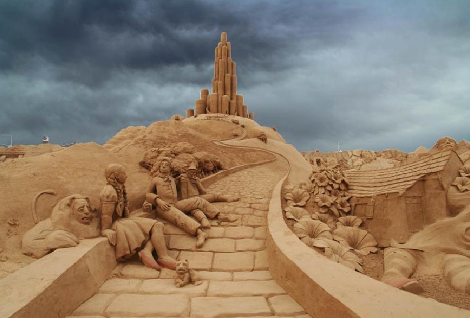sandcastles32 Замки из песка, которые поразят ваше воображение