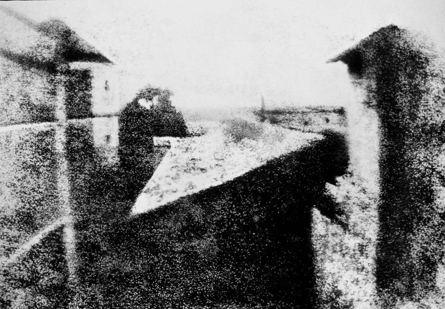 Первая фотография парижа