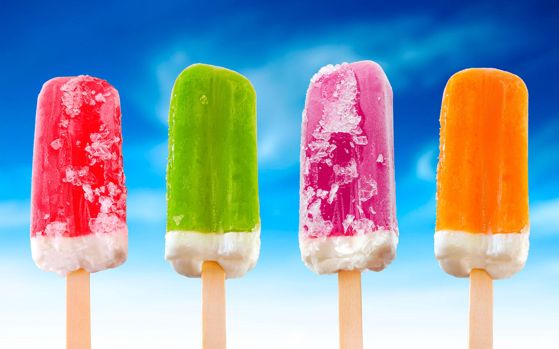 20. Мороженое на палочке
