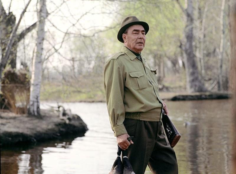 Brezhnev01 Леонид Ильич Брежнев на отдыхе и не только