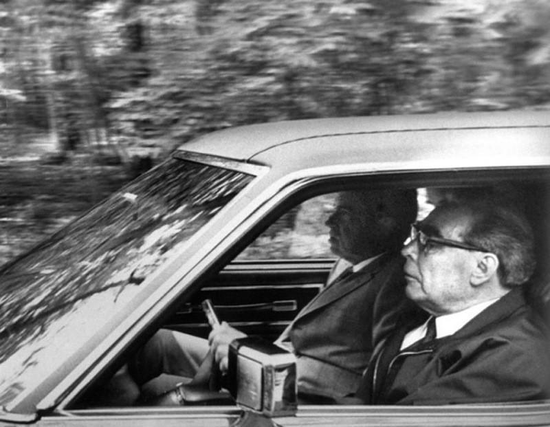 Brezhnev03 Леонид Ильич Брежнев на отдыхе и не только