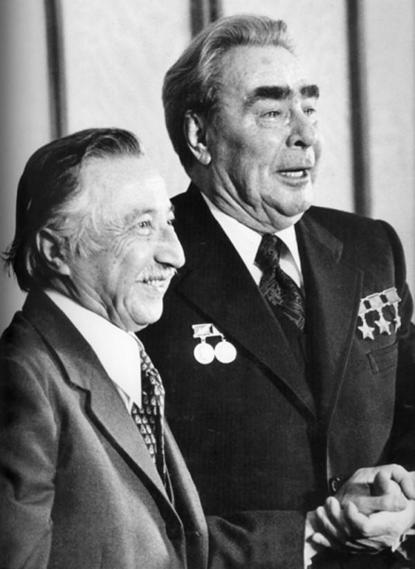 Brezhnev06 Леонид Ильич Брежнев на отдыхе и не только