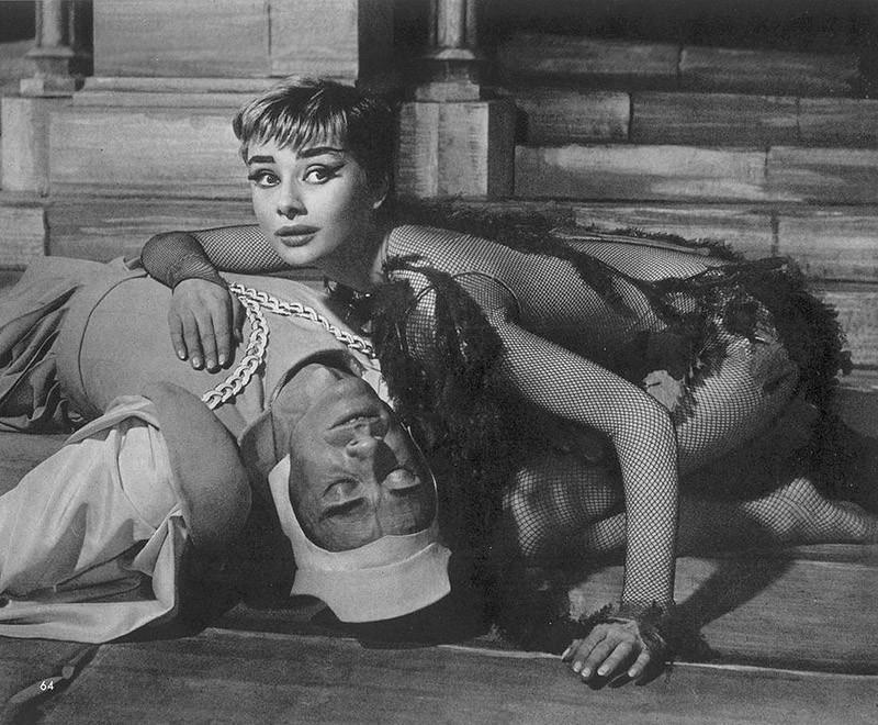 Hepburn04 Редкие фотографии Одри Хепбёрн