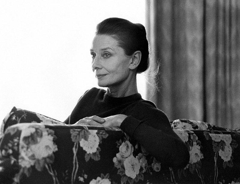 Hepburn21 Редкие фотографии Одри Хепбёрн