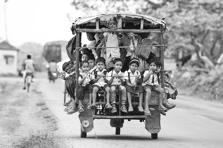 Journey2School14 25 самых опасных дорог в школу