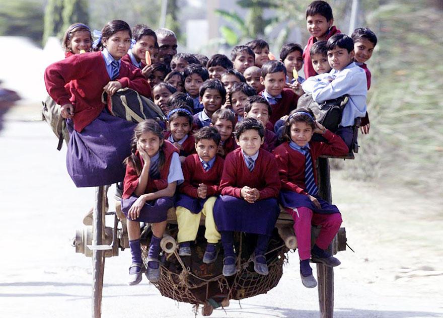 Journey2School19 25 самых опасных дорог в школу