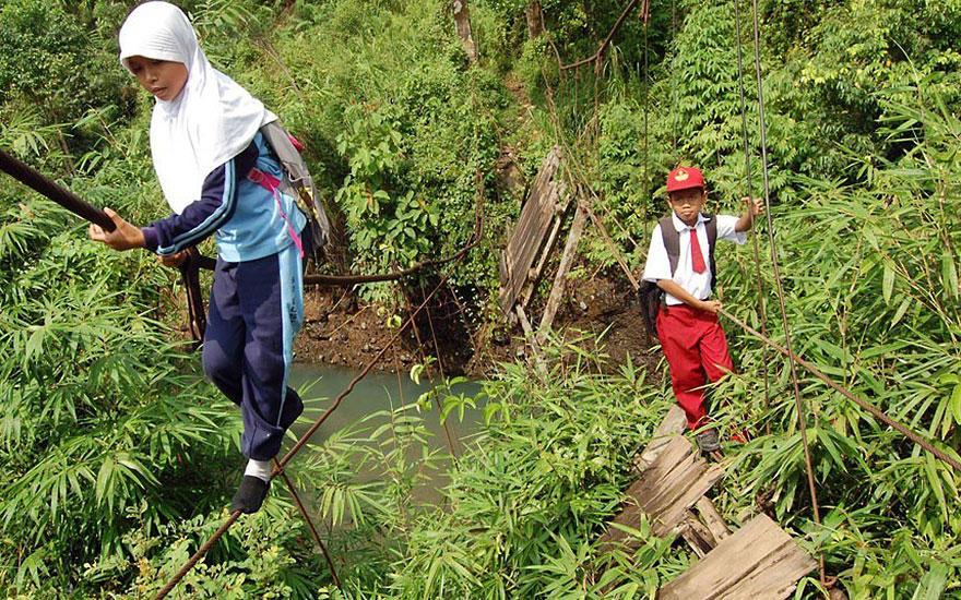 Journey2School23 25 самых опасных дорог в школу