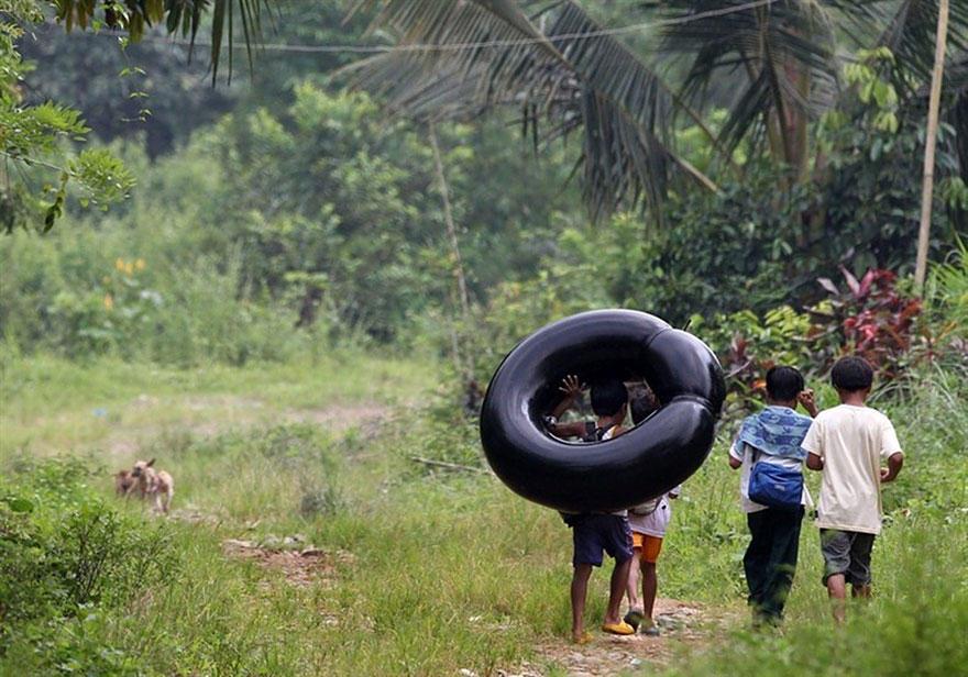 Journey2School24 25 самых опасных дорог в школу