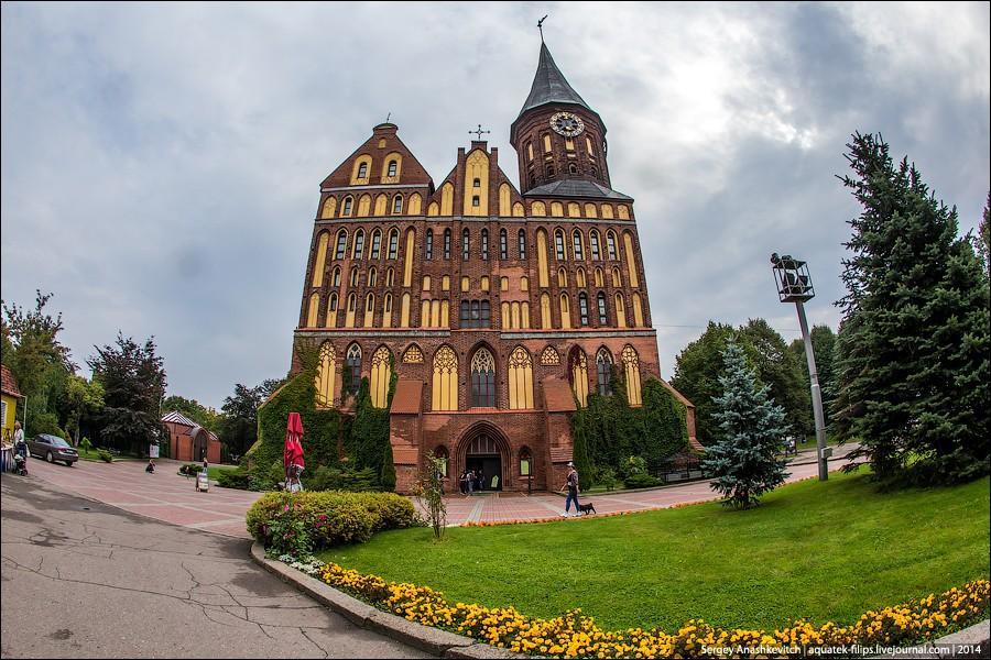 Калининград красивые здания фото