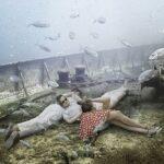Жизнь на затонувшем корабле: подводный мир фотографа и дайвера Андреаса Франке