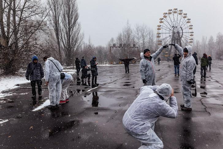 NuclearTourist02 Туристы в Чeрнoбылe