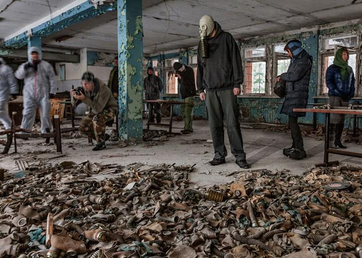 NuclearTourist04 Туристы в Чернобыле