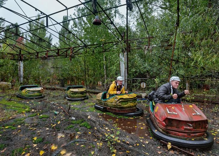 NuclearTourist11 Туристы в Чернобыле
