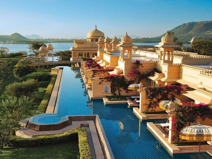 OberoiUdaivilas00 Самый шикарный отель в Индии