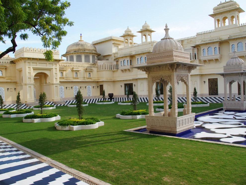 OberoiUdaivilas02 Самый шикарный отель в Индии